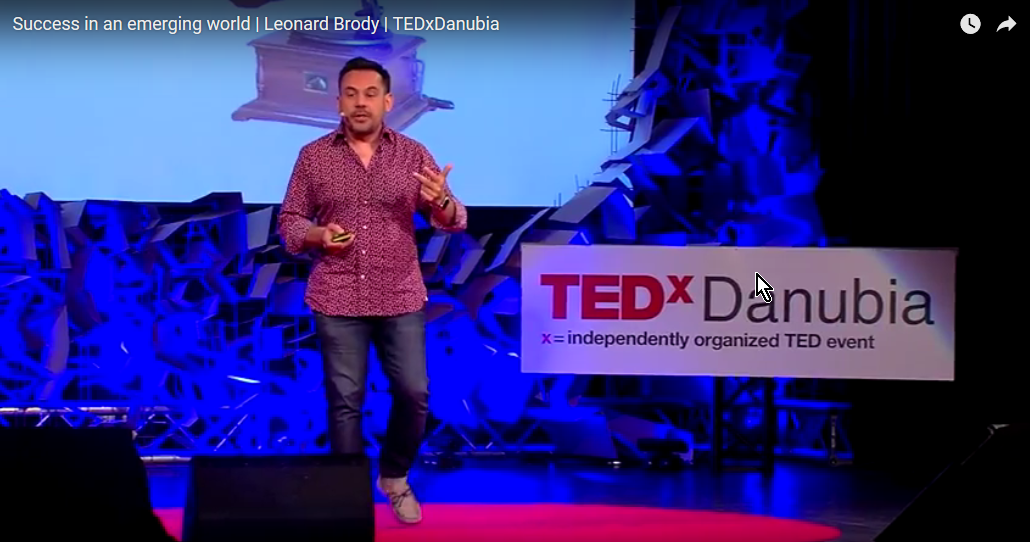 Success in an emerging world | Leonard Brody | TEDxDanubia
